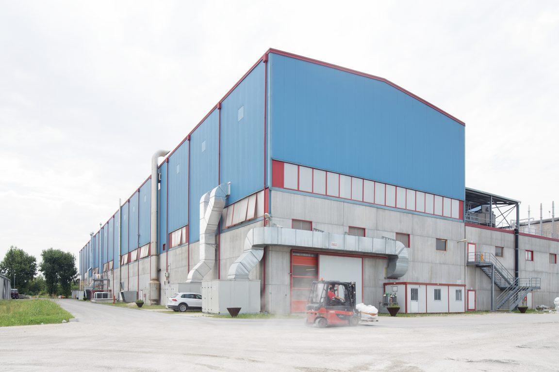 ampliamento edificio produttivo