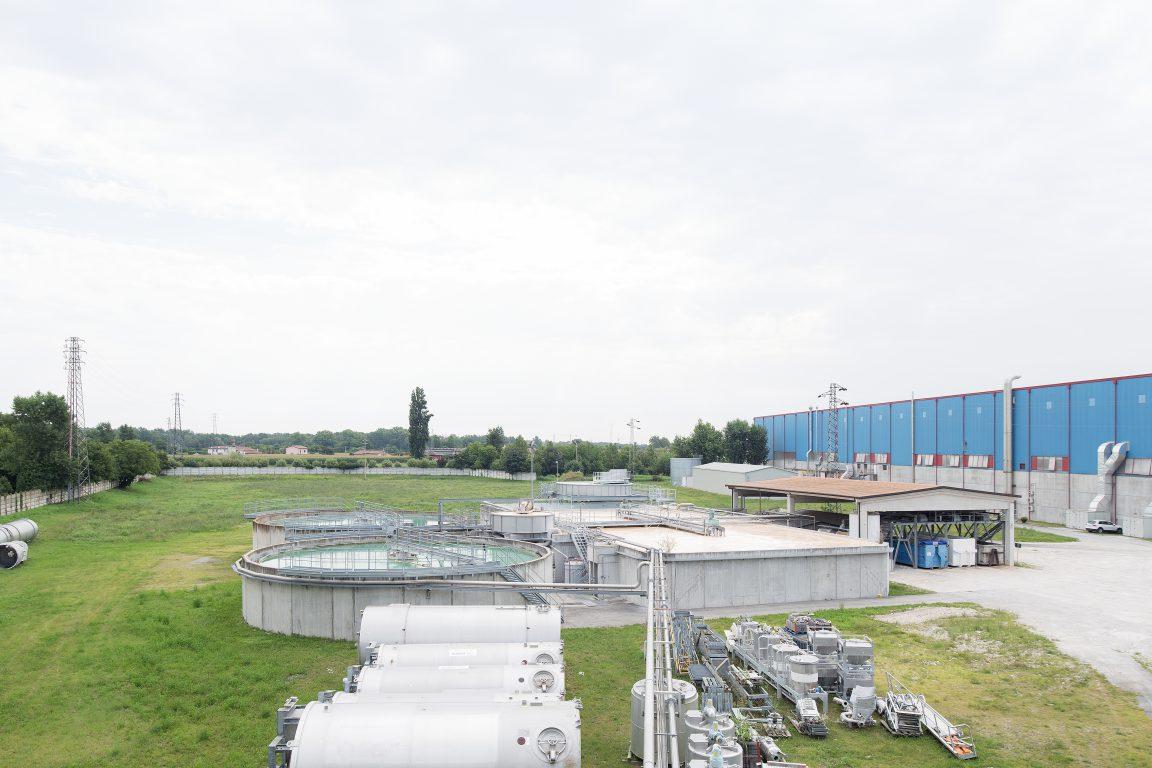 impianto di trattamento acque reflue