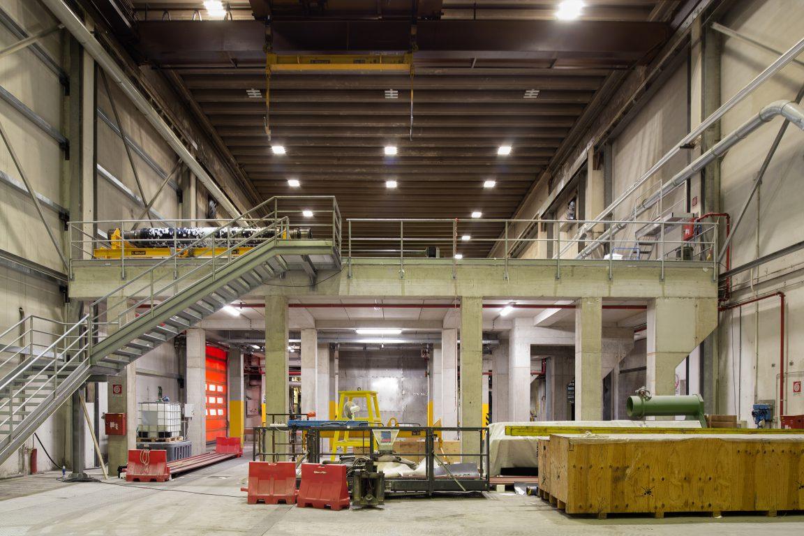 ampliamento soletta in c.a. all'interno di fabbricato esistente