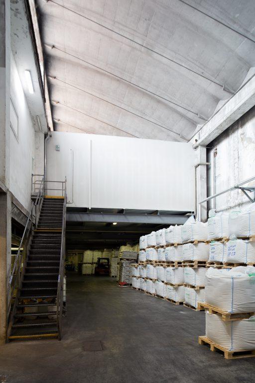 ampliamento dei laboratori all'interno di manufatto prefabbricat