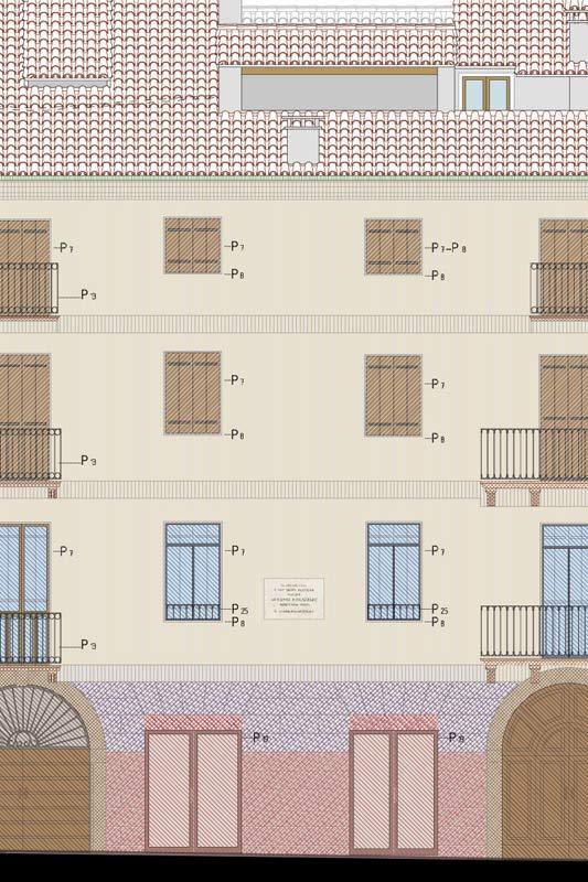palazzo Fogazzaro, progetto di restauro