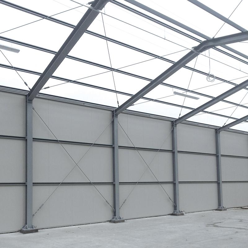 ditta CPG, costruzione di magazzino in acciaio
