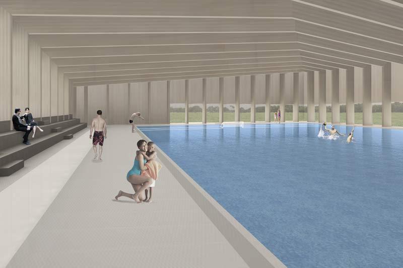 nuova piscina coperta
